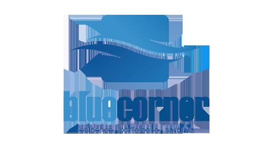Blue corner Logo sito